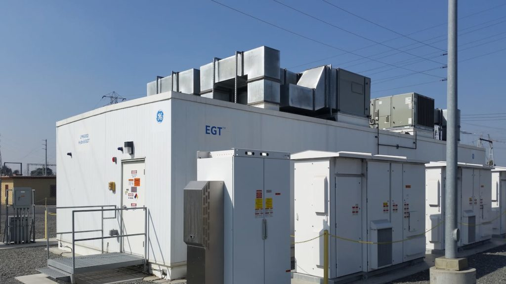 A battery storage power station in Norwalk, California. Source: Ysc usc